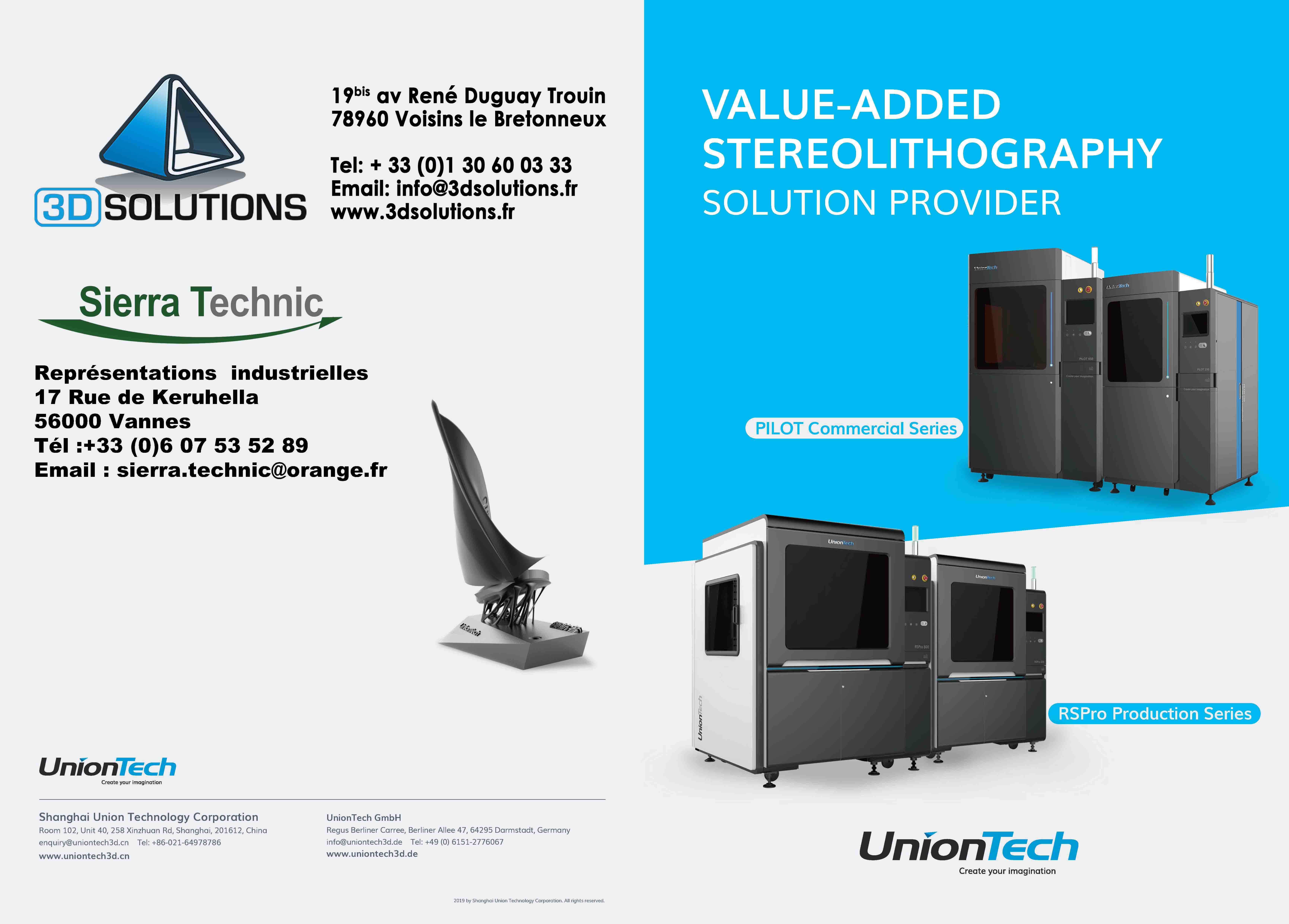 3DS UnionTech RS PRO 2100 ENG 2 Sierra Technic Page 1